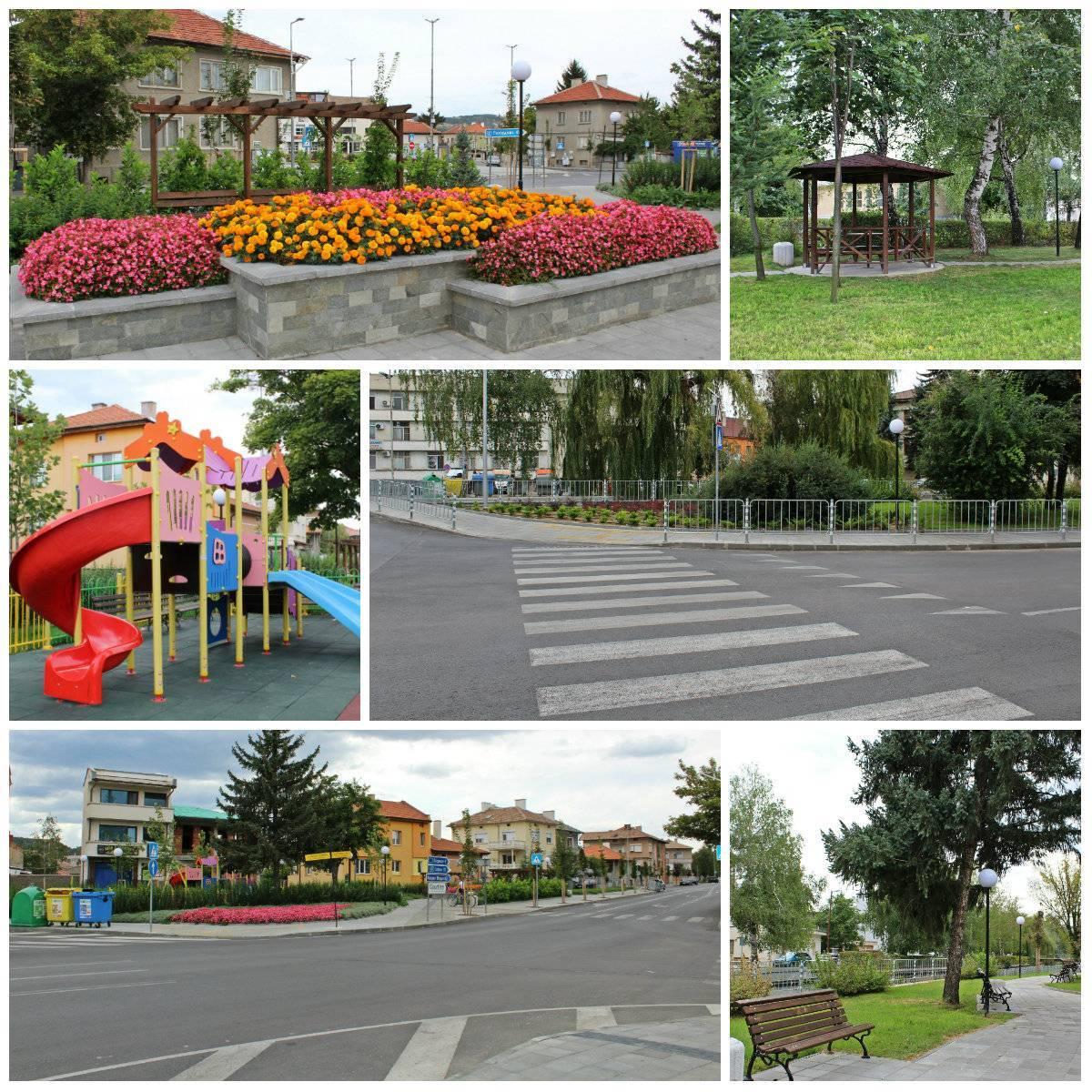 С пресконференция и официална церемония Община Панагюрище приключва проекта за благоустройство на 12 улици в града