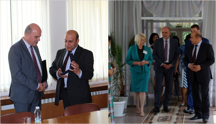 Министърът на труда и социалната политика Бисер Петков посети Панагюрище