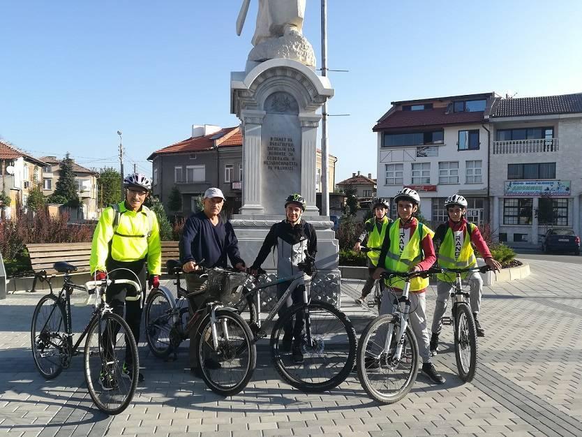 Европейската седмица на мобилността 2020 в община Панагюрище завърши на 22-ри септември с колопоход