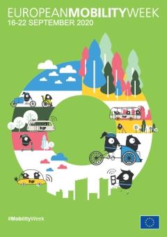 Участие на Община Панагюрище в Европейската седмица на мобилността 2020 от 16-ти до 22-ри септември