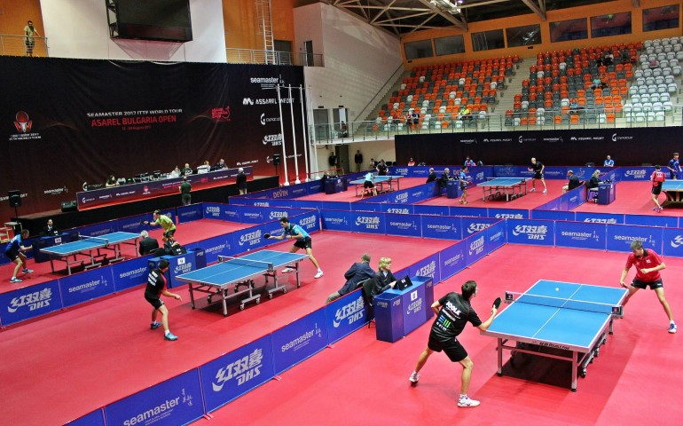 ПАНАГЮРИЩЕ ПОСРЕЩА ЕЛИТА В ТЕНИС НА МАСА В ТРЕТОТО ИЗДАНИЕ НА SEAMASTER 2017 ITTF WORLD TOUR – BULGARIA OPEN