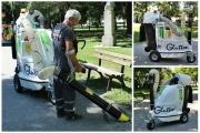 Община Панагюрище закупи иновативна вакуумна машина за екологично сметопочистване