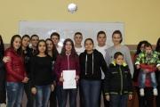 Общински ученически парламент подпомогна семейство в затруднено положение