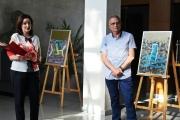 Доцент Ралица Мирчева откри изложба в Панагюрище навръх рождения си ден