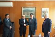 Посланикът на Казахстан бе на посещение в Панагюрище