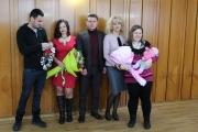 Заместник-кметът Галина Матанова ориса първото бебе за 2018 година