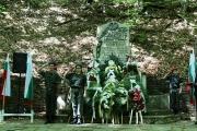 Всенародно поклонение пред подвига на героите от Април 1876-та се състоя в местността Оборище