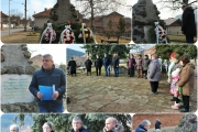 С поклонение и поднасяне на цветя отбелязахме 142 години от боевете край село Оборище и освобождението на Панагюрския край
