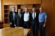 Делегация от Кавадарци гостува на Панагюрище по повод тържественото честване на 142 години от избухването на Априлското въстание