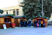 Коледният базар в Панагюрище отваря врати