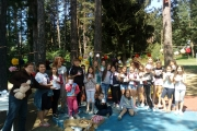 """Деца от летния лагер на Панагюрски колонии научиха колко е важно да се отнасяме """"Към природата и другите – с любов"""""""