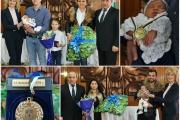 Ръководството на Община Панагюрище ориса първото бебе за 2020 година