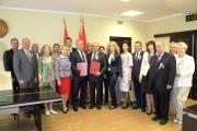 Община Панагюрище се побратими с беларуския град Жодино