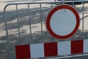 Спиране на движението на автомобили и превозни средства на участък РП III -801