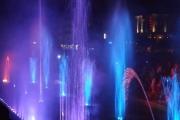 Официално откриване на музикалния фонтан  пред сградата на Община Панагюрище