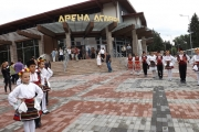 """Премиерът Бойко Борисов откри многофункционална спортна зала """"Арена Асарел"""" в Панагюрище"""