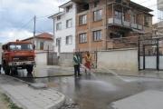 Започва първото за годината измиване на улици в град Панагюрище