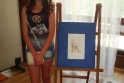 Анастасия Лулчева спечели голямата награда в конкурса за проект на талисман на ASAREL Bulgaria Open