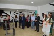 Кметът на общината Никола Белишки преряза лентата на нова фитнес зала в Панагюрище