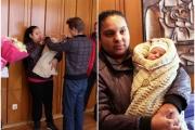 Заместник-кметът Георги Павлов ориса първото бебе за 2017 година