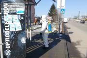 Община Панагюрище продължава дейностите по почистване и дезинфекция